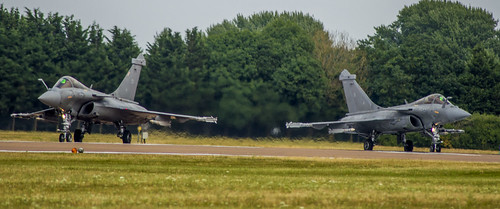 2 French Navy Dassault Rafale's