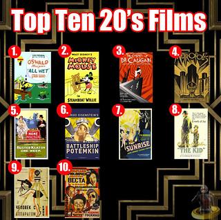 Top Ten 20s Films