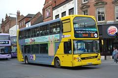 Nottingham City Transport 916 YT61GPU (Will Swain) Tags: nottingham 6th april 2018 nottinghamshire city centre bus buses transport travel uk britain vehicle vehicles county country england english nct williamsdigitalcamerapics100 916 yt61gpu