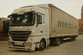 Mercedes-Benz Actros MP3 E5 1841 Megaspace - Ekol Logistics 4.0 TIC. LTD. ŞTI Istanbul, Turkei