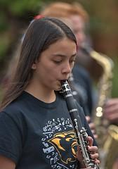 Clarinet (Scott 97006) Tags: girl musician parade clarinet march pretty