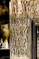 Angkor Wat Cambodia -72b (Yasu Torigoe) Tags: sony a99ii a99m2 sonyilca99m2 camboya cambodia angkor siem templo temple khmer architecture ancient ruins stonework siemreap history histoire building carving art surreal sculpture structure travel archeology thebestshot flickr best buddha buddhist hindu shiva devatas deity