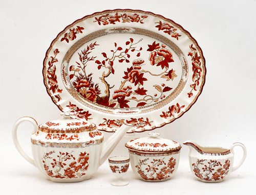 "Spode ""Indian Tree"" Porcelain Dinnerware Set ($616.00)"