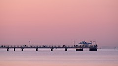 The venue (noompty) Tags: dawn woodypoint jetty pier blood moon lunareclipse photographers fishing moretonbay brisbane queensland k1 pentax hddfa150450f4556eddcaw on1pics photoraw2018