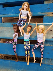 Made to Move (amartpas) Tags: barbie madetomove millie neysha pantssopink curvy