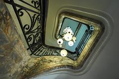 up in style (Blende1.8) Tags: stair stairs stairway staircase spiral wendeltreppe treppe treppenhaus antwerp antwerpen belgium belgien belgique interior architecture architektur building indoor indoors old alt banister treppengeländer sony alpha ilce7m3 a7m3 a7iii emount 1224mm wideangle ultraweitwinkel weitwinkel sel1224g carstenheyer