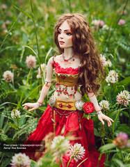 Роксолана - шарнирная кукла. (yana.kozlova.dolls) Tags: bjddolls dolls dollsbjd кукла dollstyle шарнирнаякукла collectiondoll handmade авторскаякукла кукларучнойработы handmadedoll roxolana dollart