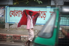 RED WINGS (N A Y E E M) Tags: man candid colors friday afternoon street crbroad chittagong bangladesh sooc raw unedited untouched carwindow