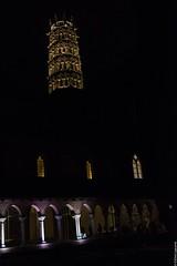 Les Jacobins de nuit, Toulouse (lyli12) Tags: clocher couvent jacobins toulouse hautegaronne midipyrénées monument monumenthistorique cloître illumination nikon