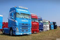Volvo FH IV Globetrotter XL / Mercedes Actros MP4 (MAGPOL, PL) (sebjakDT) Tags: volvo mercedesbenz mercedes magpol transport polska