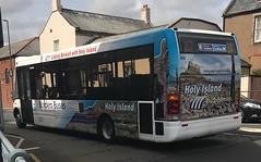 Borders Buses Optare Solo MX07NTU 10701 (Daniely buses) Tags: service267 westcoastmotors wcm 10701 mx07ntu optaresolo bordersbuses