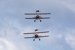 DSC_9530 copy (quintinsmith_ip) Tags: aerosuperbatics flyingcircus 'superstearmans stearmans plane formation flight smoke smoking orange white wingwalkers sunderland 2018