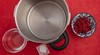 Caramelized ketchup preparation. (annick vanderschelden) Tags: bowl kitchen food ingredient pressurecooker water cup pan handle bakingsoda tomatopaste cooking preparation belgium