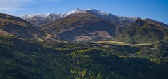 Mountains of Arrowtown (RP Major) Tags: mountains snow forest sky arrowtown new zealand nz autumn olympus