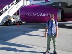 WW161 KEF-SFO 7/30/2017 (kenjet) Tags: ww wow wowair kef bikf airbus ww161 a333 333 a330343x tfgay sq 9vstj ramp airport tarmac boarding engine purple purpleplane widebody me self ken kenny kenjet