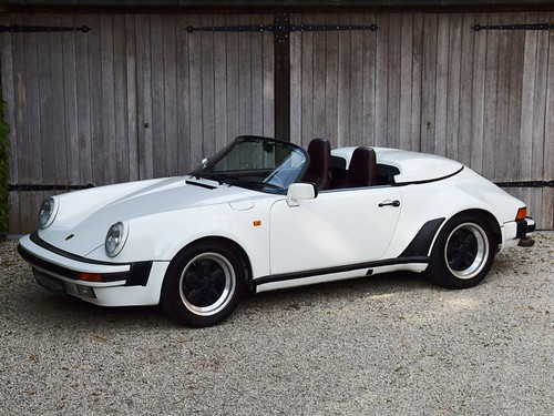 Porsche 911 Speedster WTL (1989).