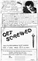 Get screwed (stillunusual) Tags: septicears fanzine musicfanzine punkfanzine punkzine magazine musicmagazine punk punkrock sexpistols sidvicious 1970s 1977