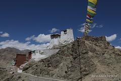 Leh (Rolandito.) Tags: asia india ledakh jammu kashmir leh monastery hill