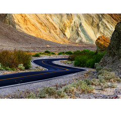 The next bend (Robyn Hooz) Tags: deathvalley valle morte california strada bend turn road desert live dream usa viaggio