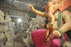 The creators of god - Ganapathy studios (Vasu..) Tags: ganesha ganapathy ganeshchathurthy studios arts artstudios ganepathystudios mumbai dadar sreeni srini