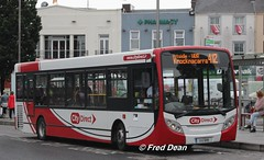 City Direct (11G6195). (Fred Dean Jnr) Tags: august2018 galway eyresquaregalway citydirect adl alexander dennis enviro enviro200 citydirectroute412 11g6195 route412 exhatts s12 sn11ffy