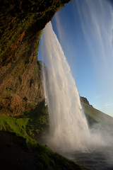 The Power of Seljalandsfoss (Rob Shenk) Tags: europe waterfall waterfalls iceland icelandic nordic landscape nature water summer evening travel