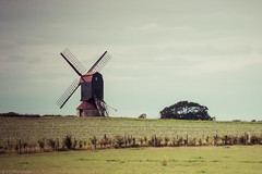 Rural (Anthony P.26) Tags: architecture bedfordshire category england external landscape places stevington travel uk agriculture rural countryside canon1585mm canon canon70d mill field farming outdoor landscapephotography travelphotography hedge plants trees sky cloudysky clouds crops