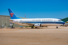 China Southern Boeing 737-3Q8 B-2921 (Mark_Aviation) Tags: china southern boeing 7373q8 b2921 capital corporation n759ba 737 737300 pima air space museum tucson arizona davis monthan force base amarg amarc military jet aircraft airplane storage boneyard