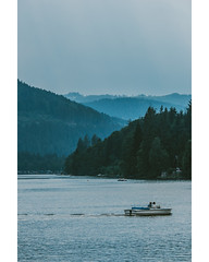 Together (freyavev) Tags: schwarzwald blackforest badenwürttemberg titiseeneustadt titisee hills nature outdoor boat lake water vsco canon canon700d vertical landscape people germany deutschland telelens zoomlens