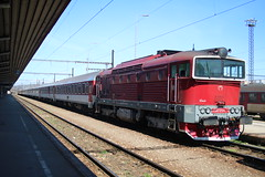754.054 @ Kosice - Slovakia (uksean13) Tags: 754054 kosice slovakia train transport railway rail canon 760d efs1855mmf3556
