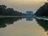 Lincoln Memorial (Shawn Blanchard) Tags: abraham lincoln memorial architecture building design trees tree water reflection reflect green blue orange washington dc capital