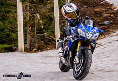 Aprilia Tuono V4 1100RR off the road (Fredrik_Johnsson) Tags: aprilia buskerud lake motorcycle norway tuono tuonov41100 landscape motorsykkel norge sky transportation