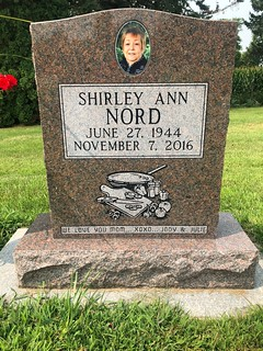 The Gravesite of Shirley Ann Nord