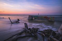 Morris Rush [EXPLORED #6] (Travis Rhoads) Tags: 2018 sonyilce7rm2a7rii zeissbatis18mmf28 reallyrightstuff ba72l bh55 rrspcl01 tvc33 leefoundationkit formatthitechfirecrest4stopnd coastal beach coastline flowingwater landscapephotography lighthouse longexposure nikcollectionbygoogle ocean waves sunset textures thegoldenhour copyright2018 travisrhoadsphotography water southcarolina jamesisland follybeach boneyardbeach driftwood morrisislandlighthouse