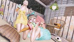 #140 Summer style:D (lizumelody) Tags: secondlife sl serenitystyle teabunny belleepoque sorumin doux tram fameshed liaison collaborative kurenai