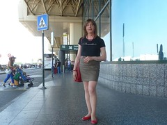 Malpensa Airport (Alessia Cross) Tags: crossdresser tgirl transgender transvestite travestito
