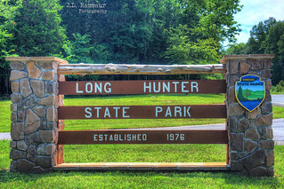Long Hunter State Park sign - Hermitage, Tennessee