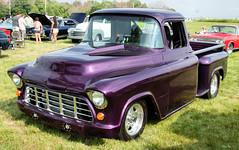 Barney... (Stu Bo) Tags: sbimageworks truck purple canonwarrior carshow hangingoutwiththefamily hotrod horsepower greatpaint oldschool onewickedride idreamofcarsmotorsandhorsepower ride rebel