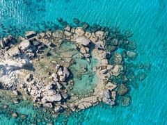 Rock pool in Cyprus