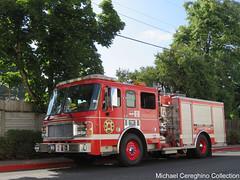 Portland Fire & Rescue E2 (Michael Cereghino (Avsfan118)) Tags: portland fire and rescue engine 2 two e2 american lafrance la france pumper truck apparatus oregon alf