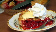 Delightful-n (Guyser1) Tags: pie cherrypie pieàlamode westyellowstone canonpowershots95 pointandshoot