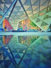 Commemorate (nixter) Tags: monument architecture rainbow city manhattan newyorkcity nyc by greenwich greenwichvillage chelsea newyorkcityaidsmemorial