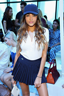 Madison Beer at Lacoste Runway