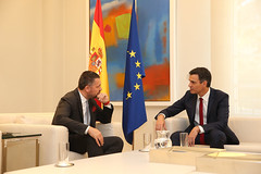 Meeting with Spanish Prime Minister (ETUC-CES) Tags: etuc spain meeting prime minister ccoo ugt visentini
