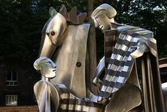 Mainz, Fürstenbergerhofstraße, hl. Martin und der Bettler (St. Martin and the beggar) Detail (HEN-Magonza) Tags: mainz fürstenbergerhofstrase hlmartin stmartin skulptur sculpture rheinlandpfalz rhinelandpalatinate deutschland germany albertsous
