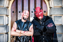 Castlefest 2018 (1) (PaulHoo) Tags: nikon d750 portrait people castlefest 2018 summer mask costume festival lisse keukenhof freddy kruger friday 13th horror