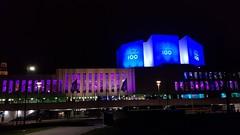 Lit up in blue for Finland's 100th birthday (hugovk) Tags: independenceday finland100 litupinblueforfinlands100thbirthday lit up blue for finlands 100th birthday geo:neighbourhood=kamppi uusimaa helsinki finland geo:region=uusimaa geo:locality=helsinki kamppi geo:country=finland geo:county=helsingin helsingin camera:model=smg950f meta:exif=1533221260 exif:exposure=133 exif:isospeed=250 camera:make=samsung exif:flash=noflash exif:orientation=rotate180 exif:aperture=17 exif:exposurebias=0 exif:focallength=42mm hvk cameraphone samsung galaxys8 samsungs8 s8 samsunggalaxys8 samsungsmg950f hugovk smg950f december 2017 winter talvi