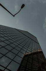 455 - Skyhigh (kosmekosme) Tags: sky high skyhigh skyscraper building window windows blue lantern light street city captial bank usa unitedstatesofamerica america urban office offices denver colorado d80