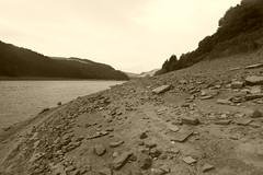 Ladybower Reservoir bed  August 2018. (dave_attrill) Tags: ladybower reservoir derwent lowwater august 2018 peakdistrict derbyshire bamford