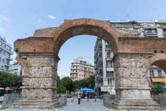 The Arch of Galerius in Thessaloniki (marcoverch) Tags: griechenland chalkidiki afytos kassandra greek urlaub thessaloniki decentralizedadministrationof decentralizedadministrationofmacedoniaandthrace gr architecture diearchitektur travel reise building gebäude city stadt ancient alt old noperson keineperson tourism tourismus landmark wahrzeichen arch bogen sky himmel town dorf outdoors drausen monument stone stein daylight tageslicht historic historisch tourist cityscape stadtbild sight sicht children stars lego boeing spring flickr fly deutschland hiking mist thearchofgalerius